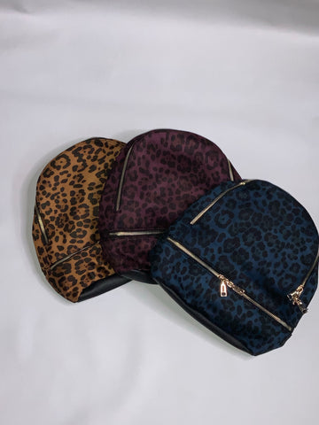 Animal Print Backpacks