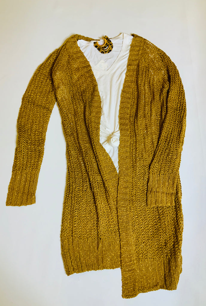Camel Sweater / Cardigan