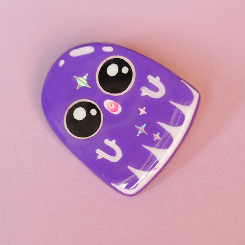 Handmade pin, Ghostie