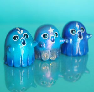 Ghosties, blue