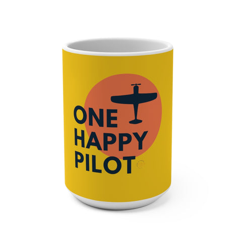 One Happy Pilot 15oz Mug