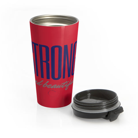 Strong and Beautiful Stainless Steel Travel Mug
