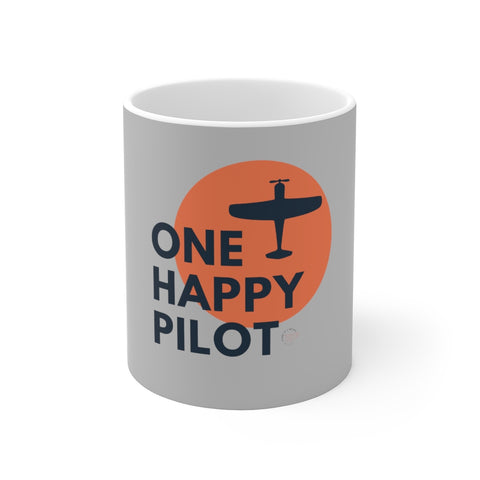 One Happy Pilot 11oz Mug