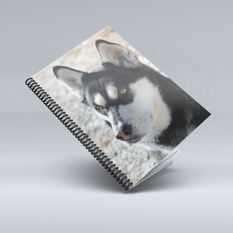 Spiral Notebook with your Dog Photo