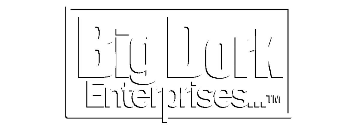 a754978338e32b Big Dork Enterprises Logo