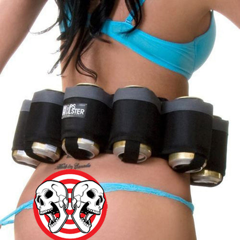 6 Pack Beer Can Holster