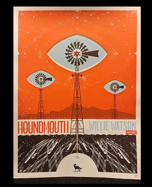Houndmouth & Willie Watson Poster