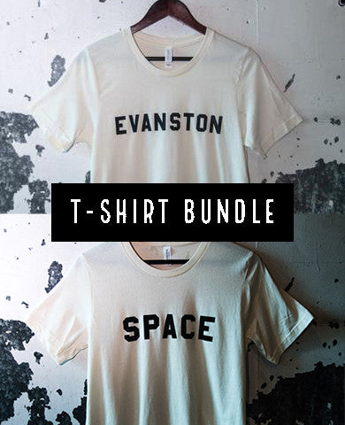 EVANSTON + SPACE Tee Duo