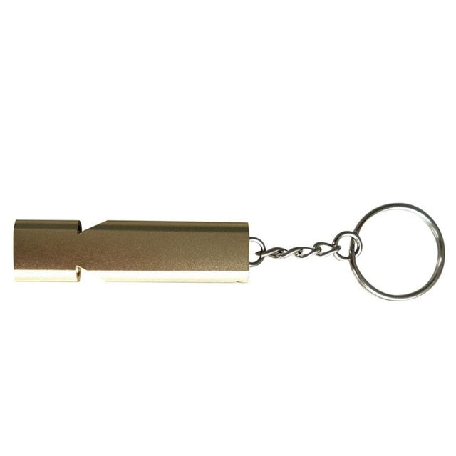 Mini Alloy Aluminum Survival Whistle