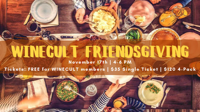 WINECULT Friendsgiving Ticket