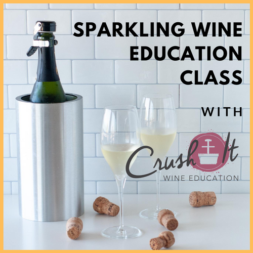 Crush It! Zoom Sparkling Wine Class Wine Bundle