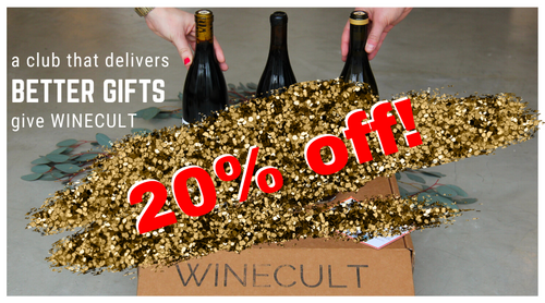 20% off 3 month WINECULT gift
