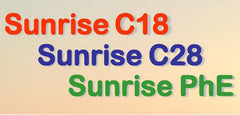 Sunrise C18 & C28 Octacocyl Group, Sunrise PhE Phenethyl Group