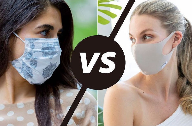 Disposable vs Reusable Face Masks