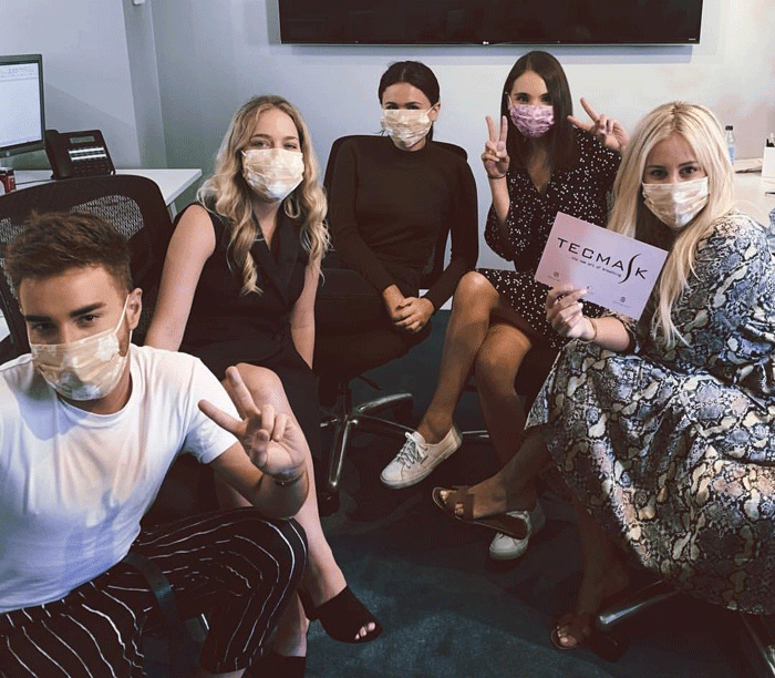 Roxy Jacenko shares her opinion about TECMASK