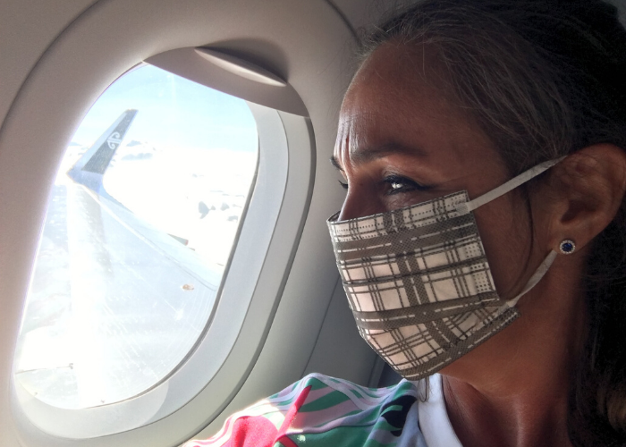 Why I'll never travel without a face mask again