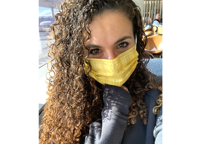 TECMASK founder Maddy Scarf talks about her travel tips to avoid germs
