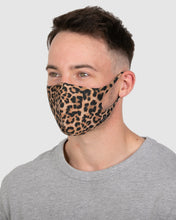 Load image into Gallery viewer, Leopard Print Reusable Face Mask (LIMITED EDITION)