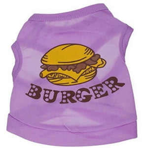Purple Burger Tanktop