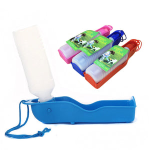 Portable Water Bottle Bowl