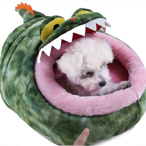Monster Mouth Dog Bed