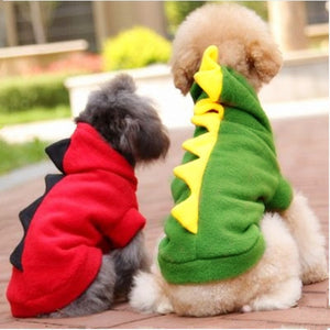 Dinosaur Winter Puppy Pajamas