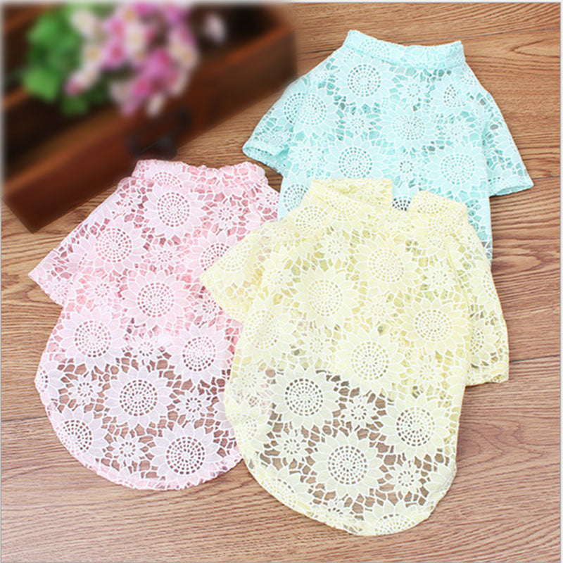 Lace Pattern Party Dress