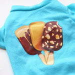 Summer Ice Cream Print Shirt