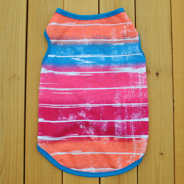 Breathable Tie Dye Tank Top