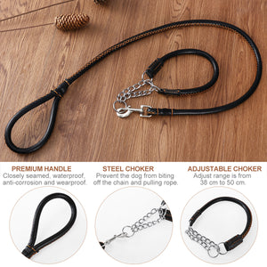 Leather Training Leash
