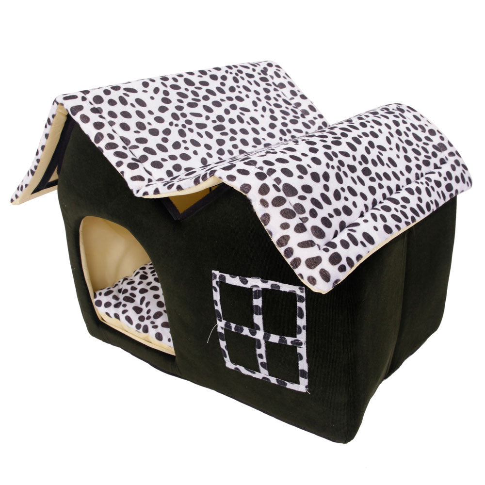 Leopard House Bed