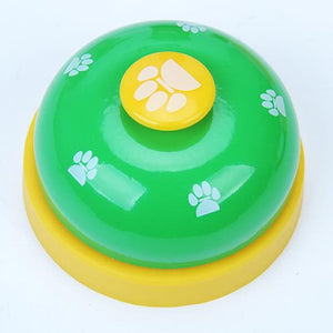 Paw Print Training Bell