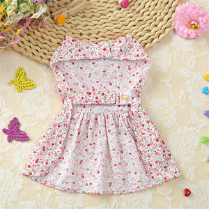 Summer Butterfly Floral Dress