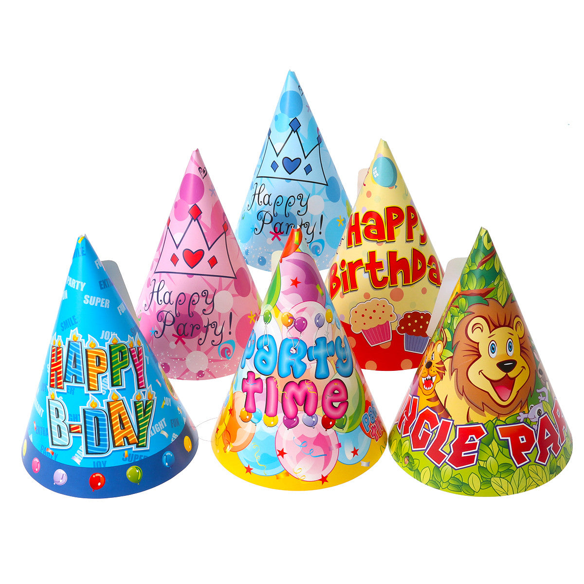 12 Birthday Pattern Hats