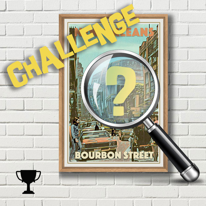 Challenge : Are you a good detective? (Bourbon Street)