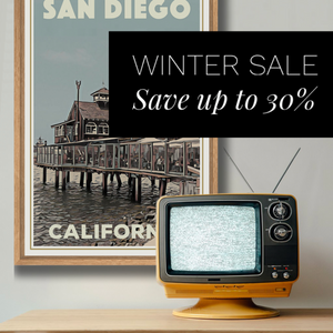 WINTER SALES - Pick a bargain on your favorite poster!