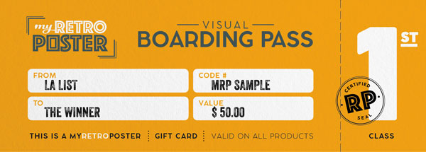 Poster Gift Card