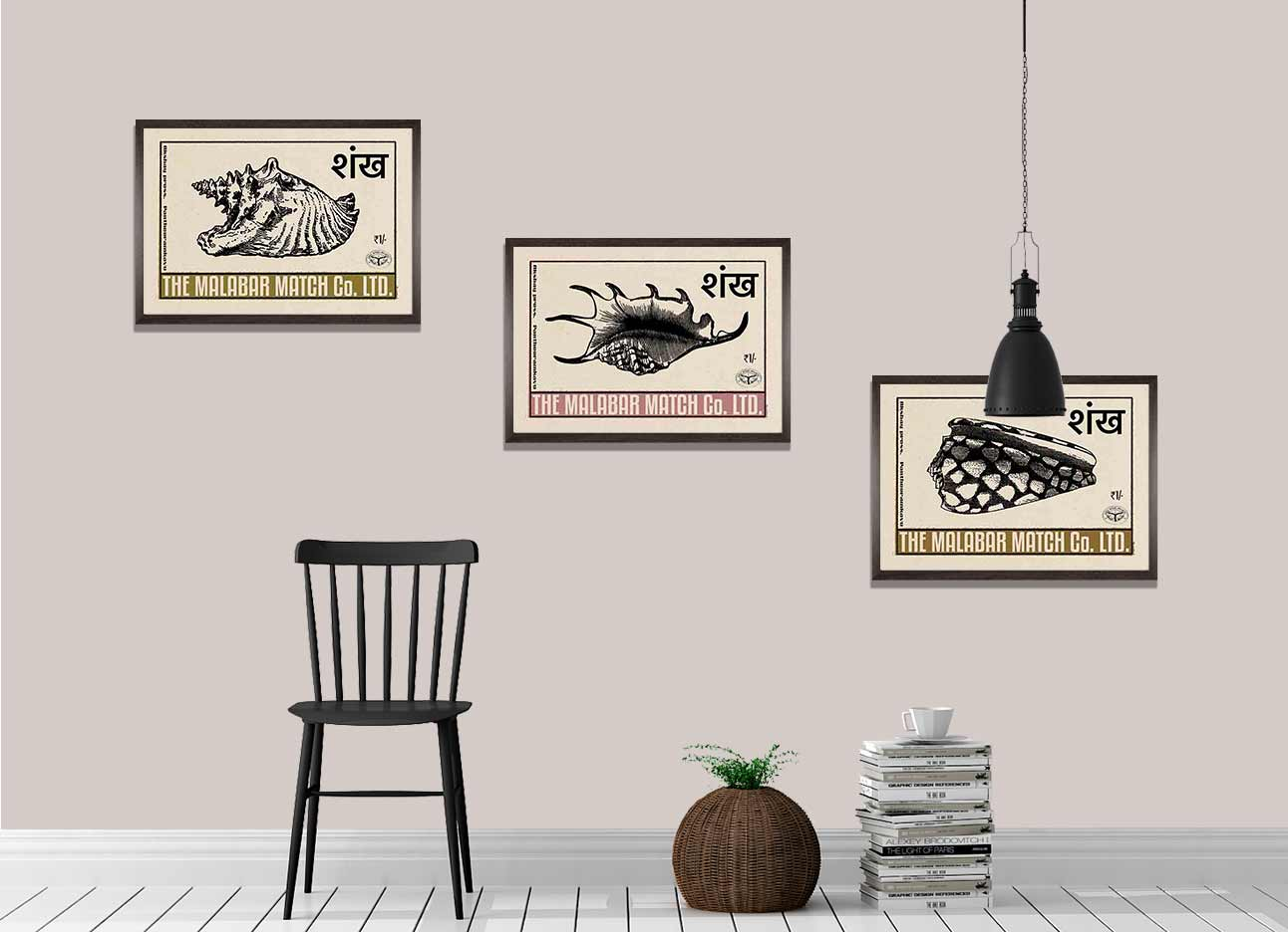 Seashell Posters Collection