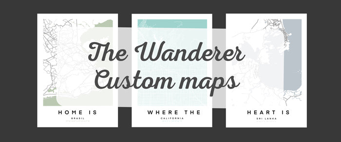 How to create a personalised map