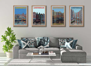 Amsterdam Art Prints Collection - Dutch Boho decor