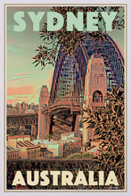 Load image into Gallery viewer, Vintage Poster SYDNEY'S BRIDGE - Original Retro Poster Australia