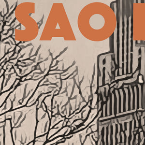 Details of SAO PAOLO BRASIL'S LOCOMOTIVE Vintage poster