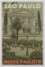 Load image into Gallery viewer, Vintage poster of MUSEU PAULISTA SAO PAULO - Retroposter