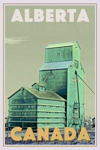 Poster of ALBERTA FARM Canada - Buy a poster online