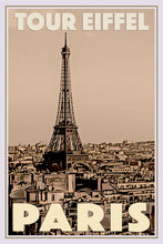Load image into Gallery viewer, Vintage travel Poster - PARIS TOUR EIFFEL (limited-to-50XL edition) - Affiche retro