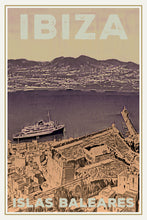 Load image into Gallery viewer, Vintage poster - IBIZA CRUISES - Vintage poster Baleares