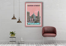 Load image into Gallery viewer, Vintage Poster QUEEN STREET - AUCKLAND  - New Zealand poster