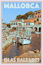 Load image into Gallery viewer, Vintage Travel Poster Port Mallorca - MyRetroposter