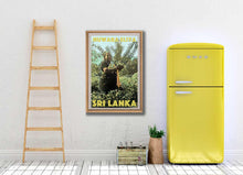 Load image into Gallery viewer, Vintage Poster Nuwara Eliya Tea Plantation Plucker - Art Print Sri Lanka
