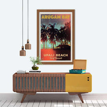 Load image into Gallery viewer, Sunset Upali Beach Arugam Bay - Vintage Travel Poster